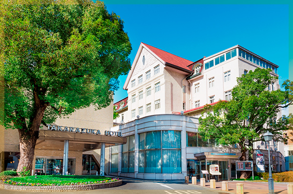 Takarazuka Hotel: official hotel of the Takarazuka Grand Theater
